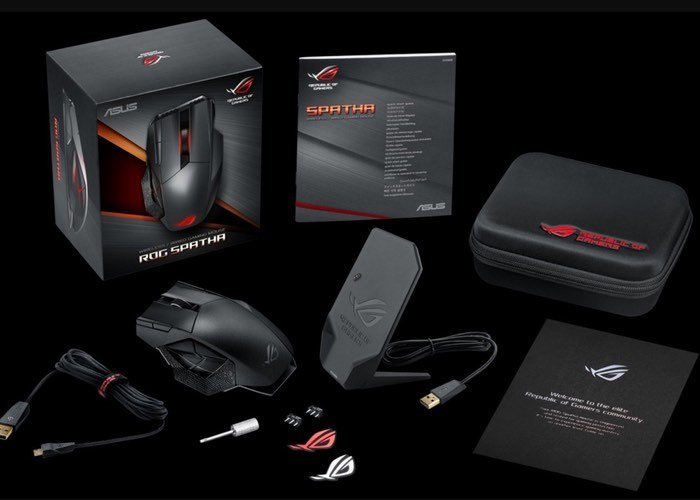 Asus ROG Spatha MMO Gaming Mouse Unveiled