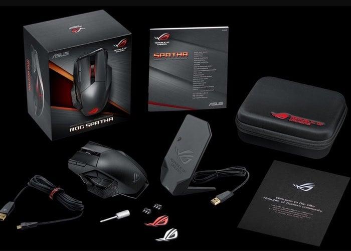 ASUS ROG Spatha MMO Gaming Mouse