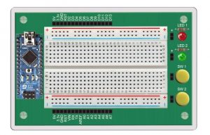 Arduino Learning Board With Mini-Projects And Online Lessons (video)