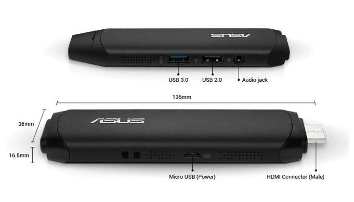 Asus VivoStick Windows 10 Stick PC