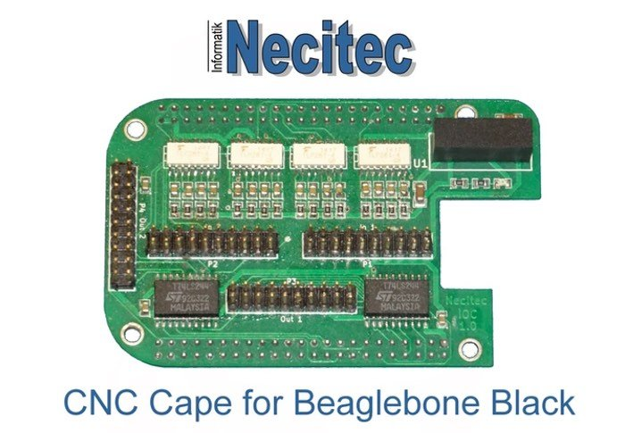 Beaglebone Black Based CNC Controller