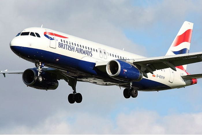 british airways drone