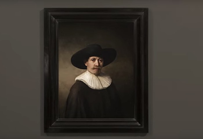 Computer Rembrandt Painting