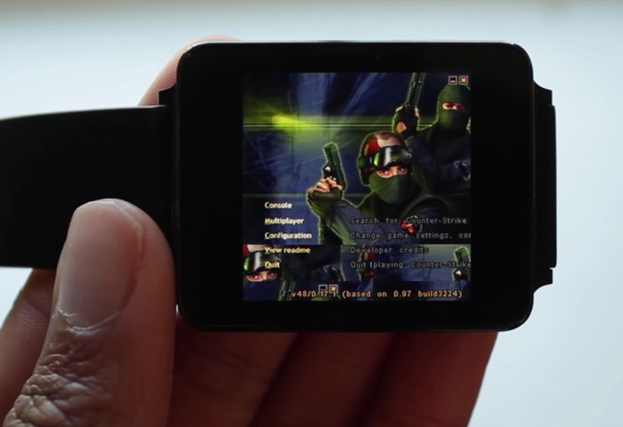 Counter-Strike On Your Android Wear Smartwatch