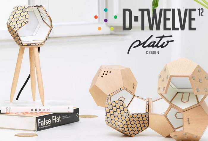 D-Twelve Lamp Modular Magnetic Lighting System