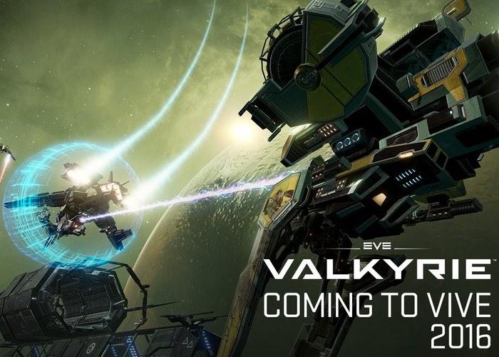 EVE Valkyrie HTC Vive