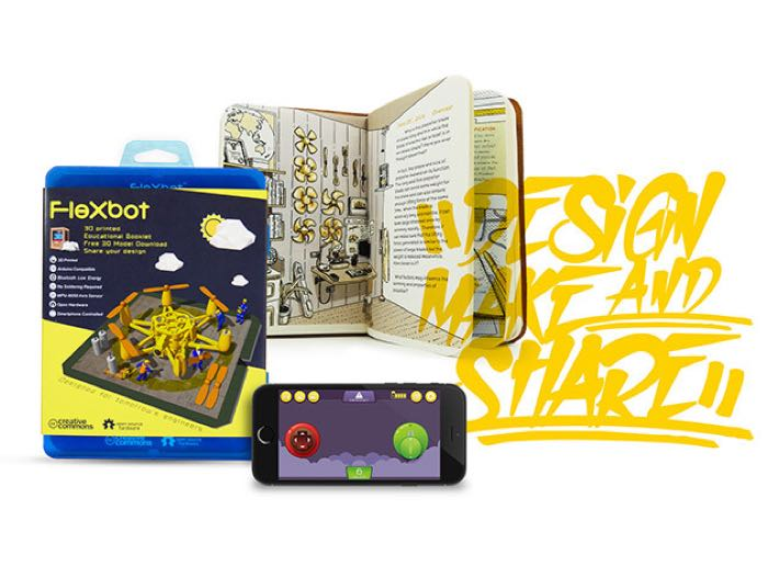 FlexBot DIY Camera-Drone Kit