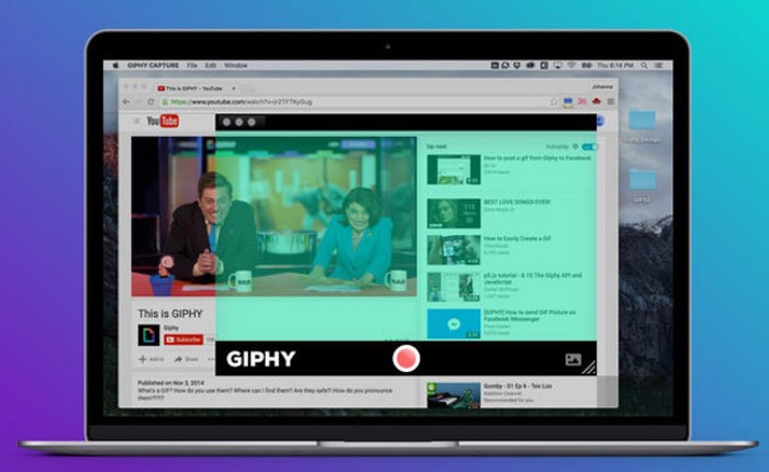 Giphy Mac OS X App