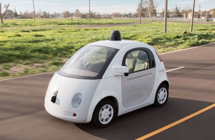 Google slef driving cars