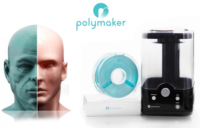 Layer-Free 3D Printing Becomes Reality Using Polymaker PolySmooth And Polysher Unit (video)