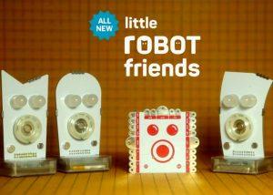 Second Generation Little Robot Friends Hit Kickstarter (video)
