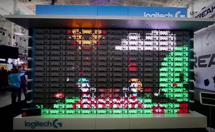 Logitech Keyboard Display