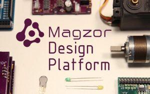 Magzor Open Robotics Design Platform (video)