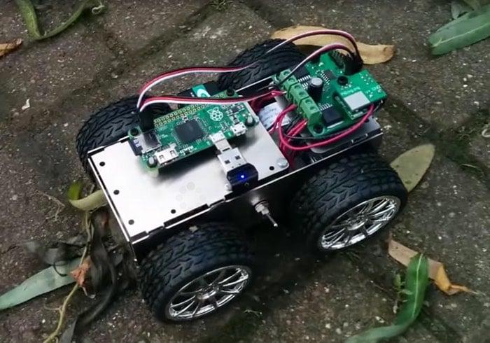 PiBorg 4Borg Raspberry Pi Zero Project