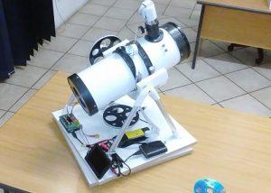 PiScope Raspberry Pi Optical Tracking Telescope Created