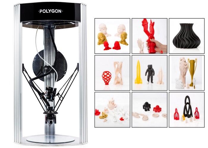 Polygon Delta 3D Printer Kit