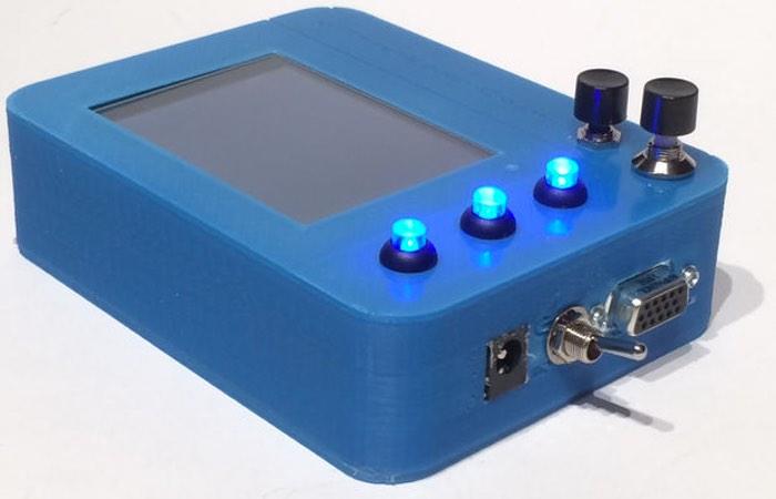 Portable PiKon Raspberry Pi Telescope Display