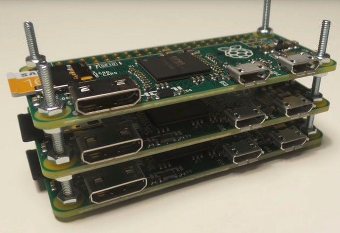 """Raspberry PI Zero Cluster """"Supercomputer"""" Project"""
