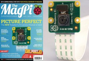 Raspberry Pi Magazine Issue 45 Explores The New 8mp Pi Camera