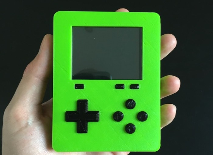 Raspberry Pi Zero Handheld Retro Game