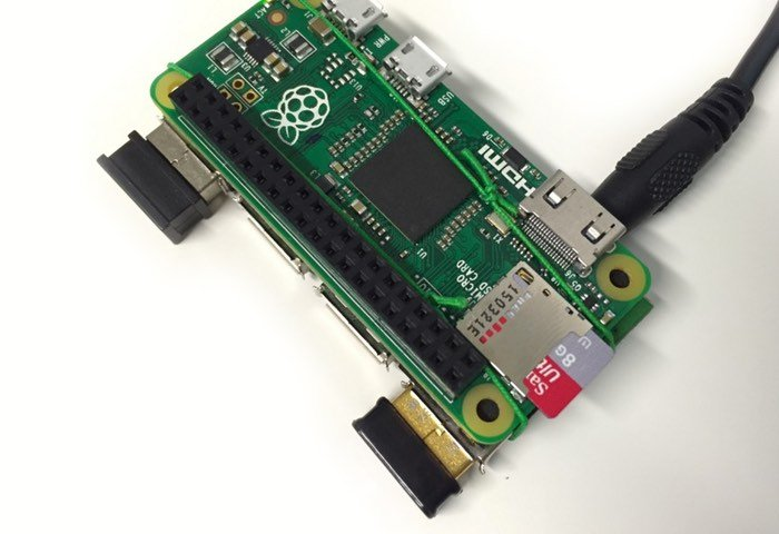 Raspberry Pi Zero Piggy-Back USB Hub Project