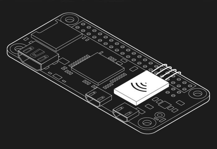 Raspbery Pi Zero Low Profile WiFi Board Project