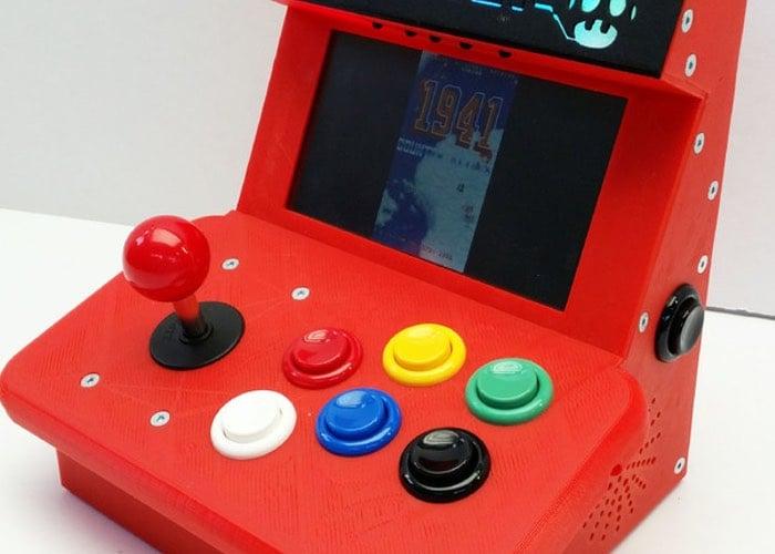 Retropie Mini Arcade Cabinet Powered By A Raspberry Pi 2