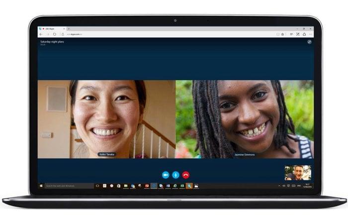 Skype Edge Browser