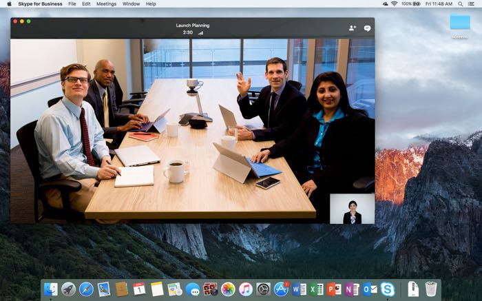 Skype for Business Mac Preview