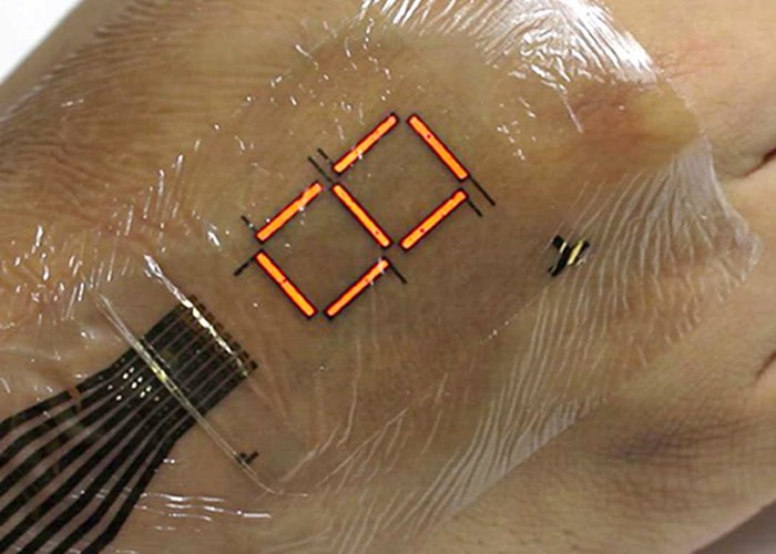 Super Thin LEDs Skin Display