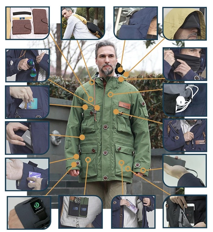 Ukltimate Gadget Jacket