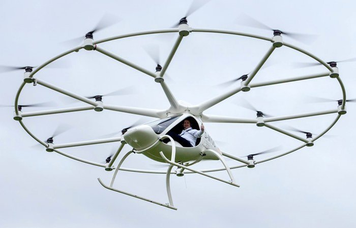 Volocopter Electric Helicopter