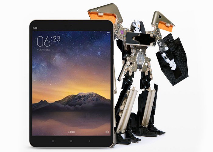 This Xiaomi Mi Pad 2 Can Turn Into A Transformers Character