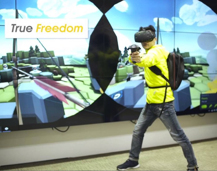Zotac HTC Vive Untethered Virtual Reality System (video)