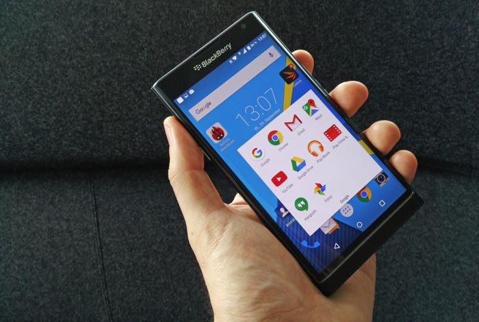 BlackBerry Priv Android Marshmallow