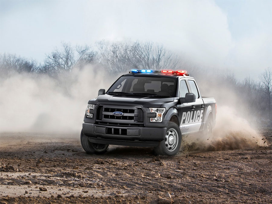 2016 Ford F150 Special Service Vehicle is a Truck for Cops  Geeky