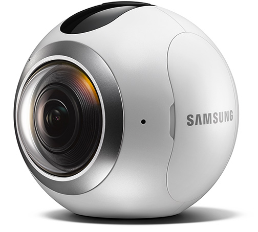 Samsung Gear 360 Camera Goes On Sale In South Korea (Video ...