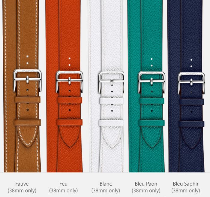 Hermes bands apple watch