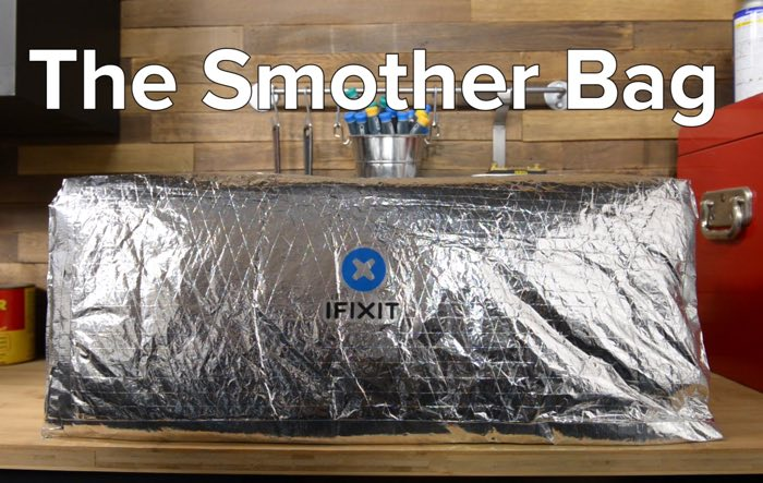 Fixit's New Smother Bag Aims To Stop Hoverboard Fires