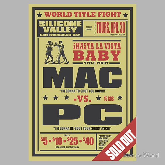Mac vs PC T-Shirt