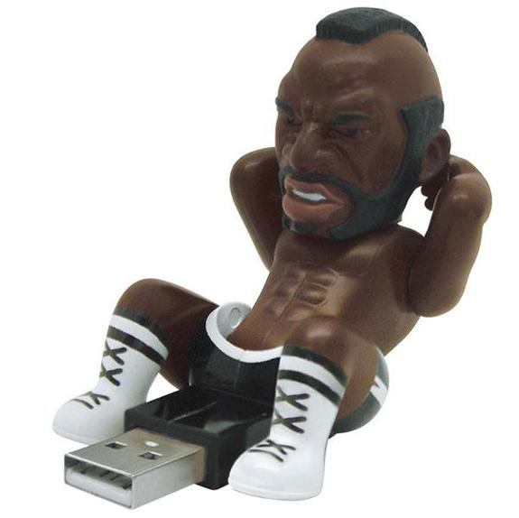 Rocky Crunching USB Drives