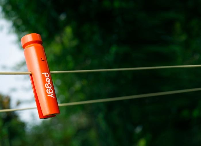 Peggy Is A Smart Clothes Peg That Lets You Know When Its About To Rain