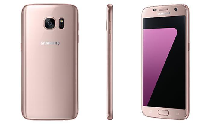Pink Gold Samsung Galaxy S7