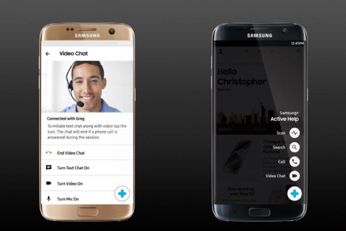 Samsung+ App