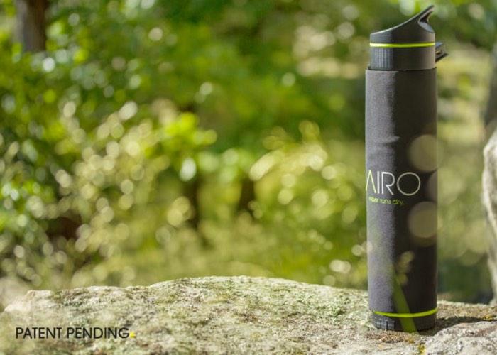 Fontus Self Filling Water Bottle, Transforms Air Into Water (video)