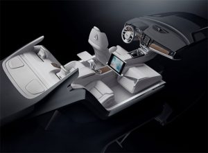 Volvo S90 Excellence Interior Concept is a Spa on Wheels