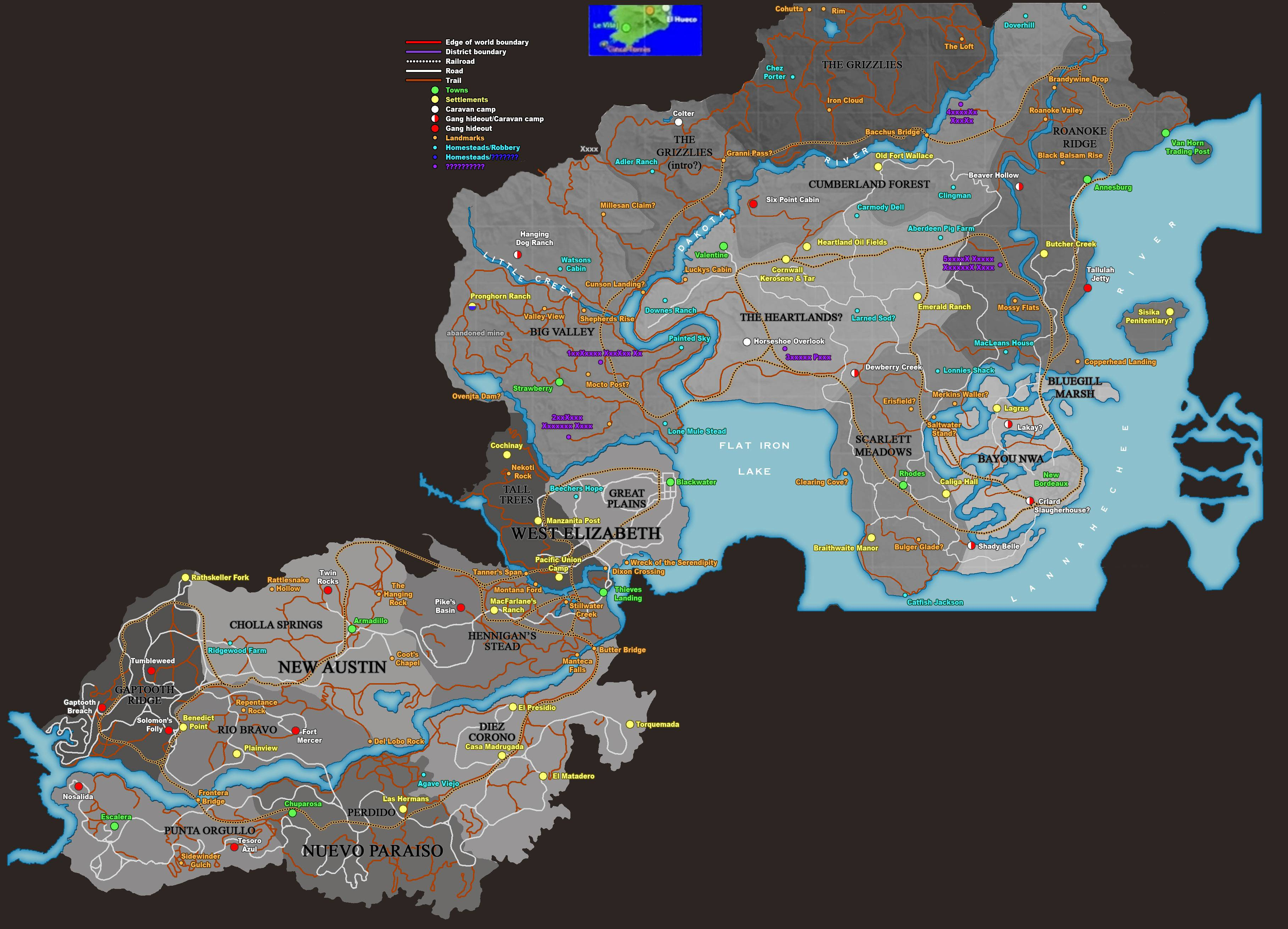 Gta 5 Map Leak Clearer Red Dead Redem...
