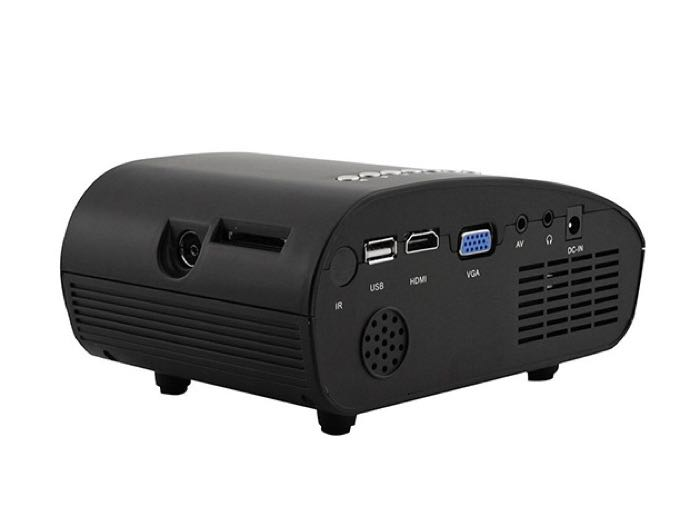 SainSonic Mini LED Portable Projector