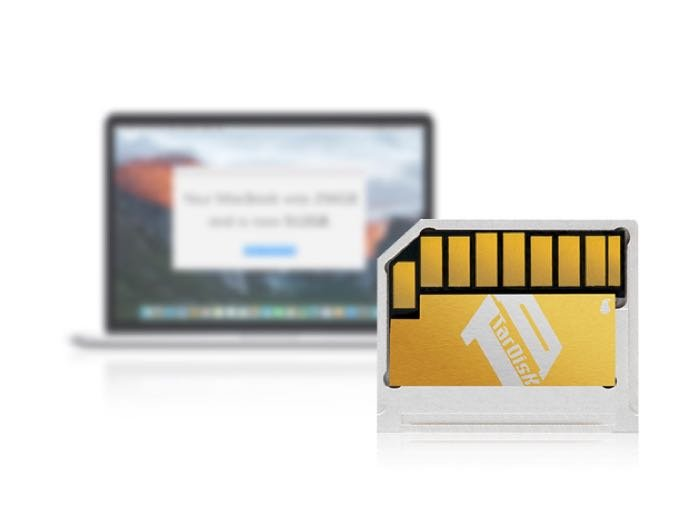 TarDisk 64GB MacBook Drive