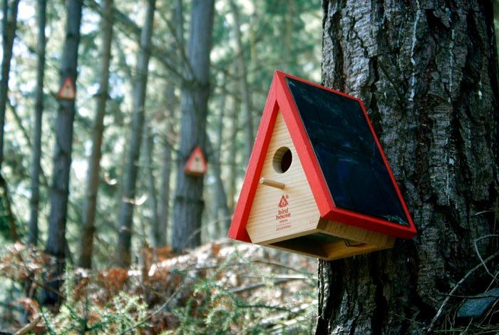 3G Arduino Bird House Notifies Authorities Of Forest Fires (video)